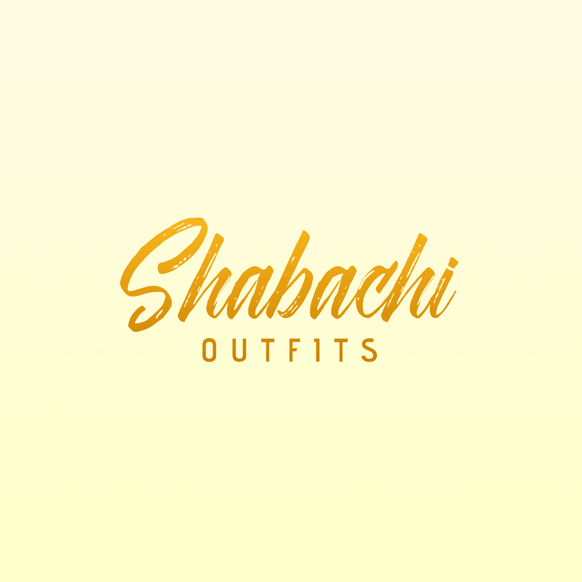 Shabachi outfit